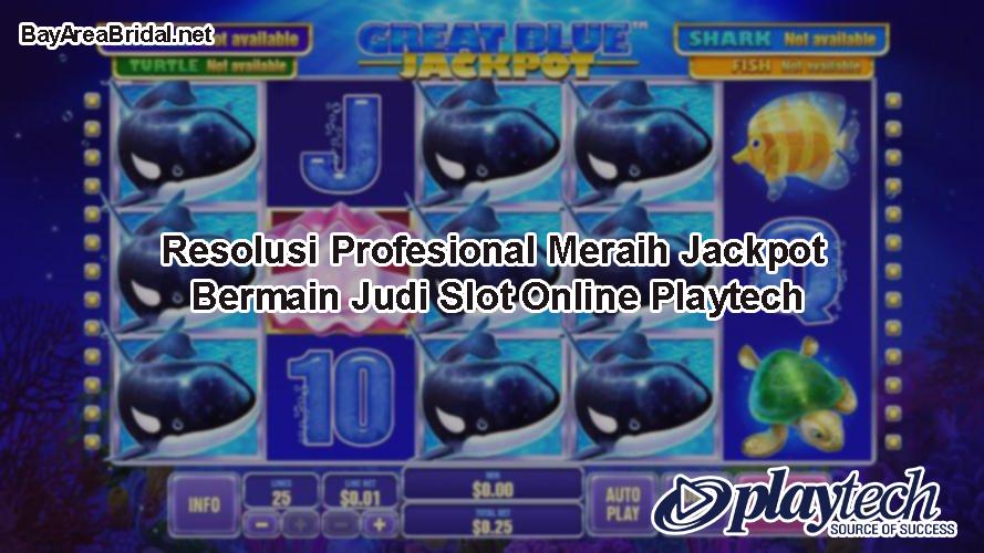 Resolusi Profesional Meraih Jackpot Bermain Judi Slot Online Playtech